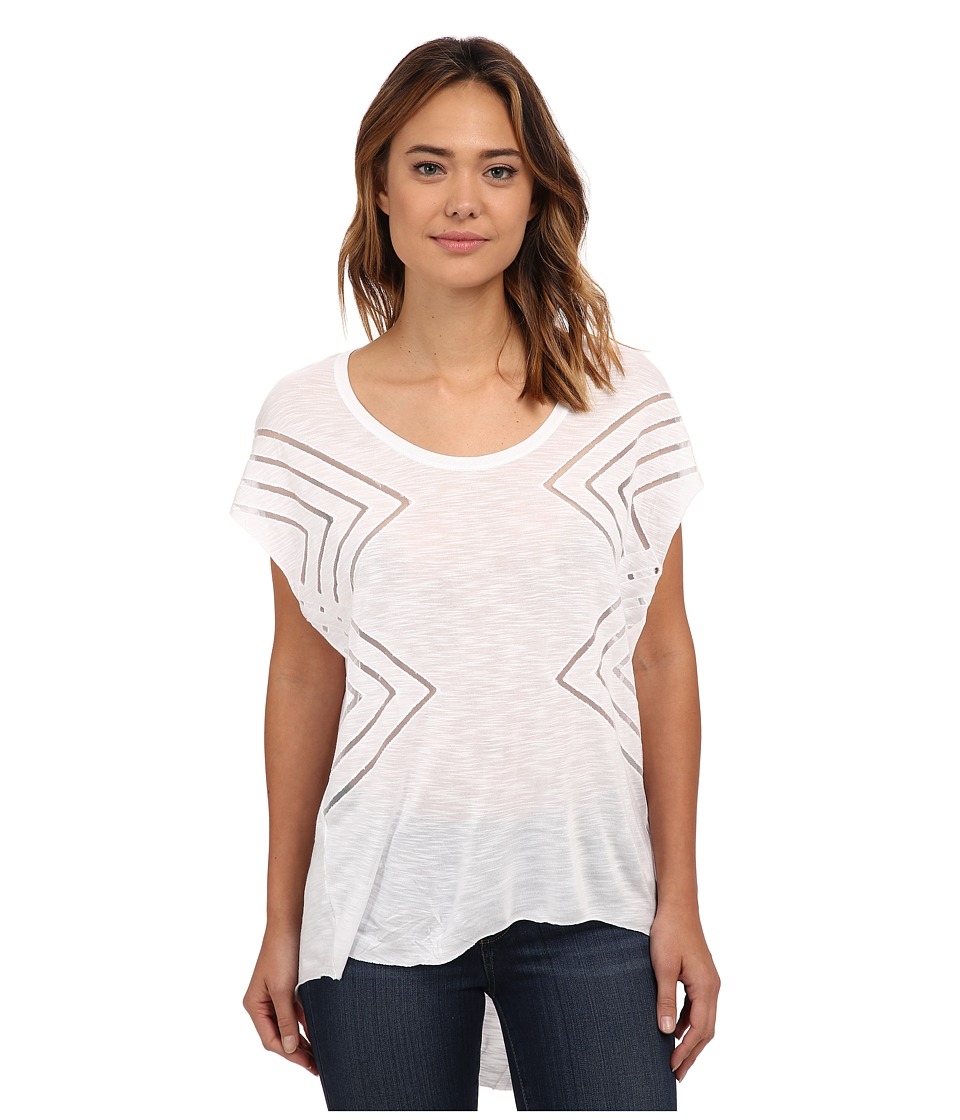 O'Neill - Elite Tee (White) Women's Short Sleeve Pullover