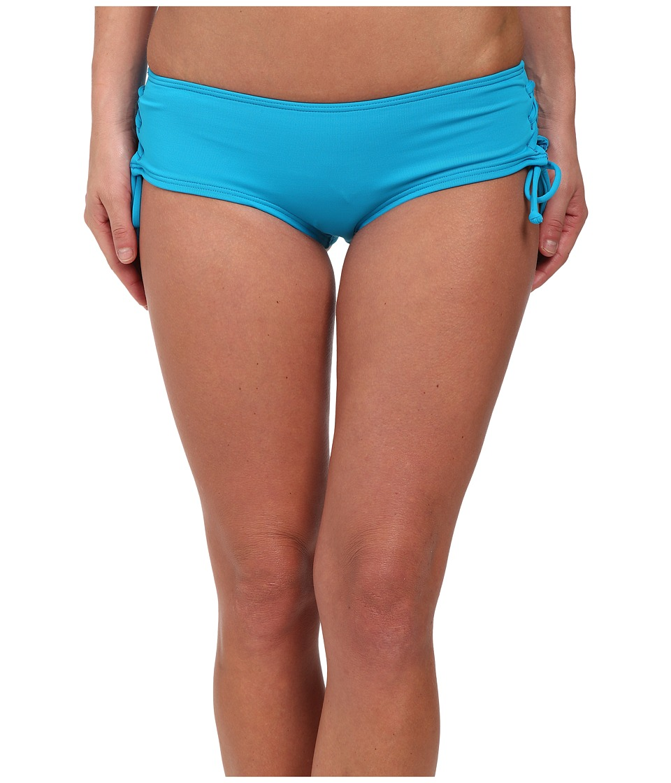 O'Neill - Vista Booty Shorts (Peacock Blue) Women's Swimwear