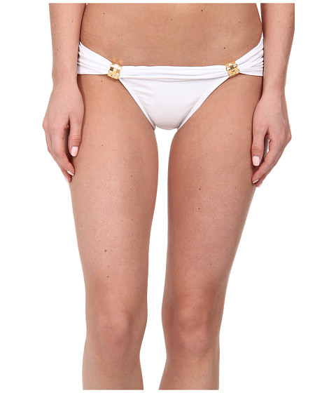 Vix - Solid Bia Tube Brazillian Bottom (White) Women's Swimwear