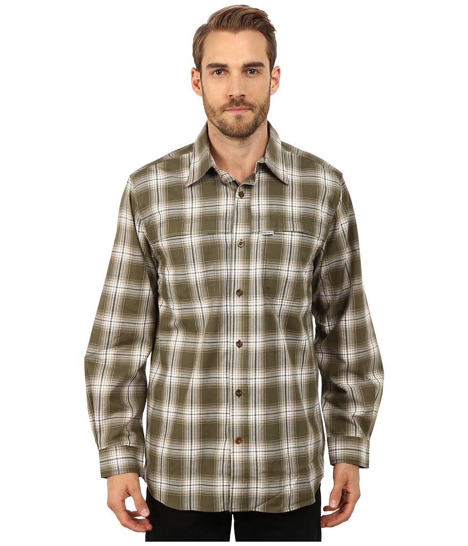 Carhartt - Force Reydell Long Sleeve Shirt (Moss) Men's Clothing