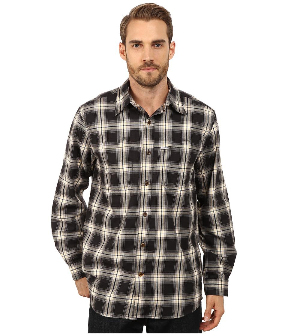 Carhartt - Force Reydell Long Sleeve Shirt (Black) Men's Clothing
