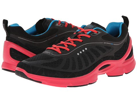 Ecco Performance - Biom EVO Trainer (Black/Black/Teaberry) Women's Shoes