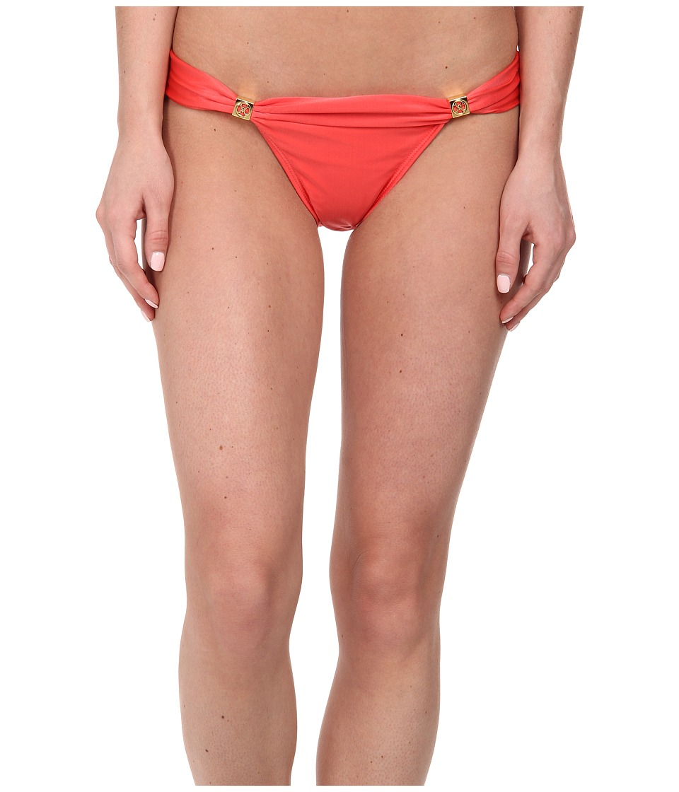 Vix - Solid Coral Red Bia Tube Full Bottoms (Coral Red) Women