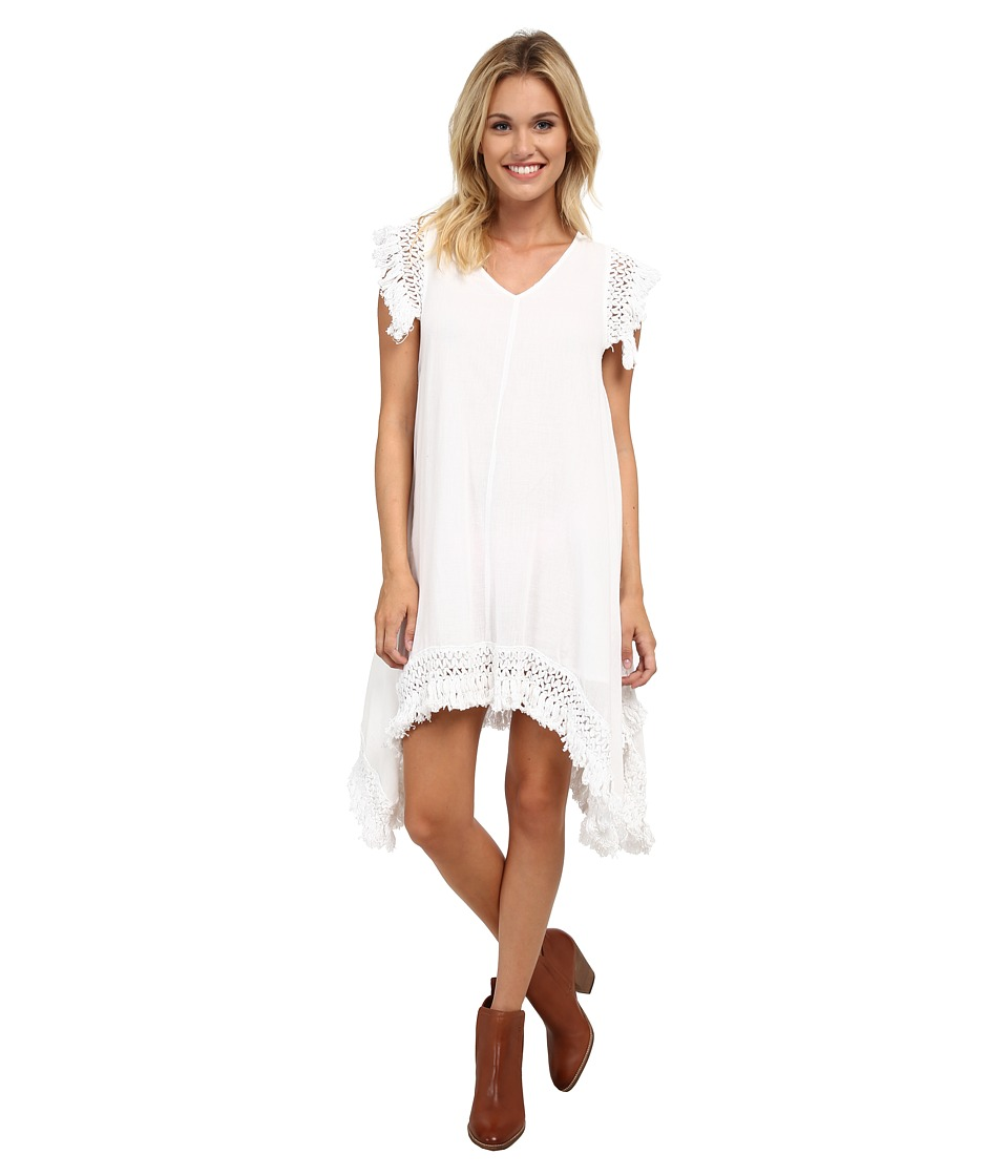 Volcom - Trailin By Dress (White) Women's Dress