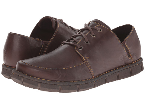 Born - Tristen (Brown Full Grain Leather) Men's Lace up casual Shoes