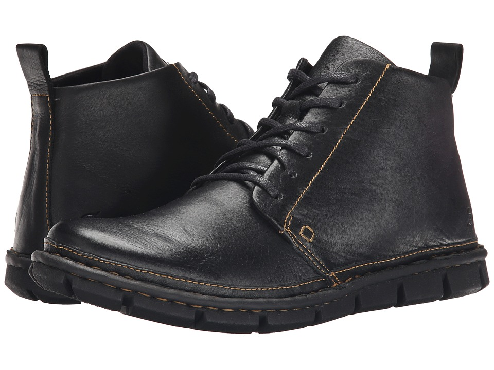 Born - Jax (Black Full Grain Leather) Men