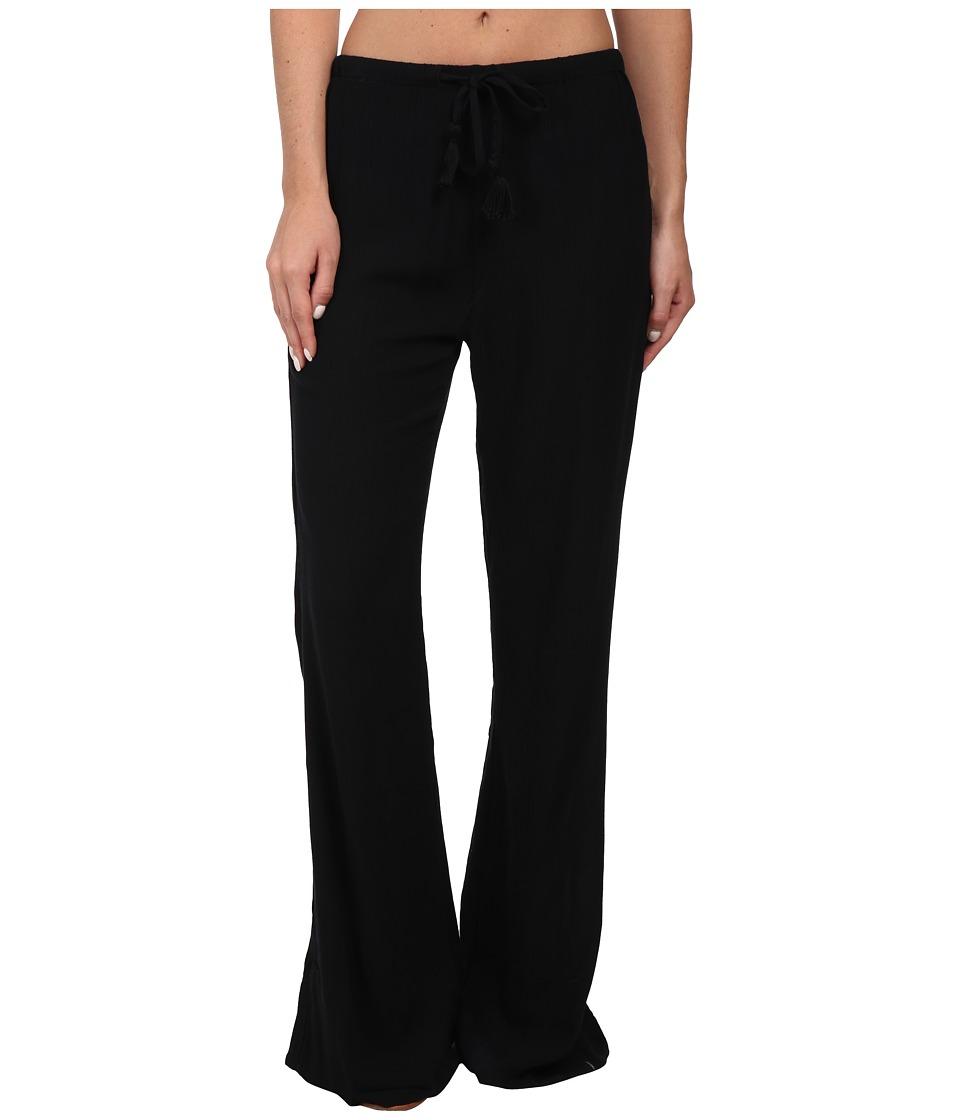 Volcom - Bells Beach Pants (Black) Women's Casual Pants