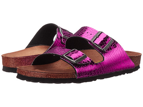 Birkenstock - Arizona (Pink Textile) Women's Shoes