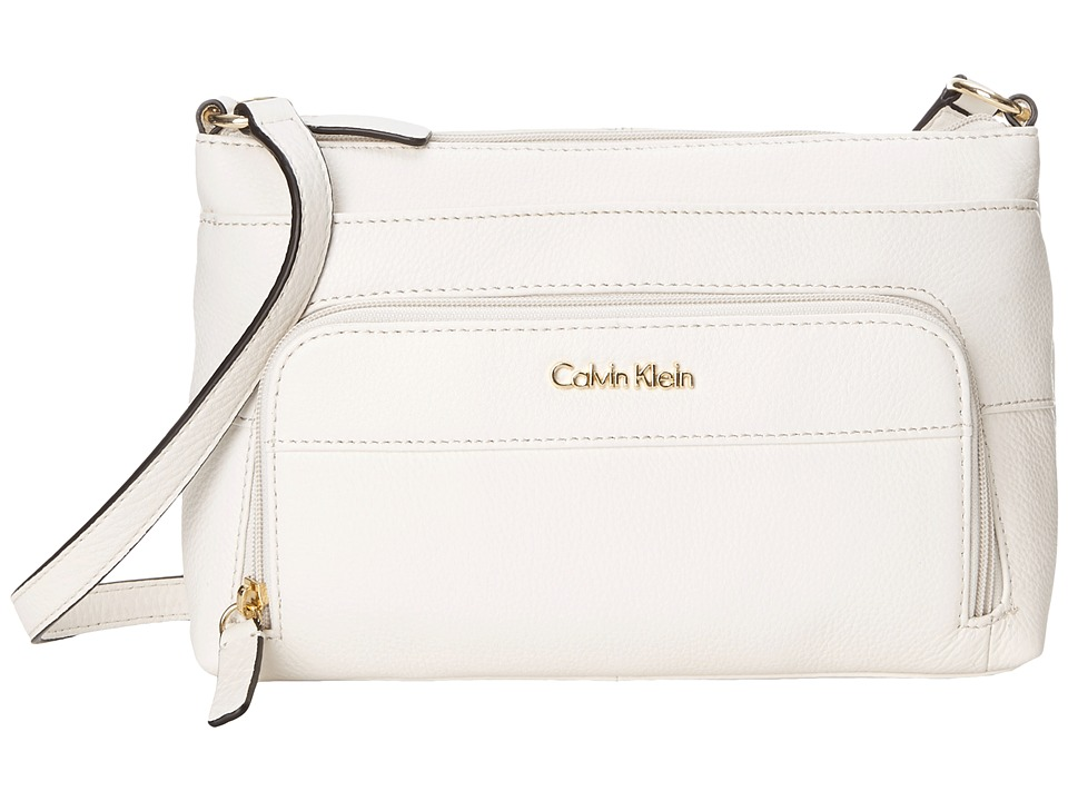Calvin Klein - Key Items H3JEA2CB (White) Handbags
