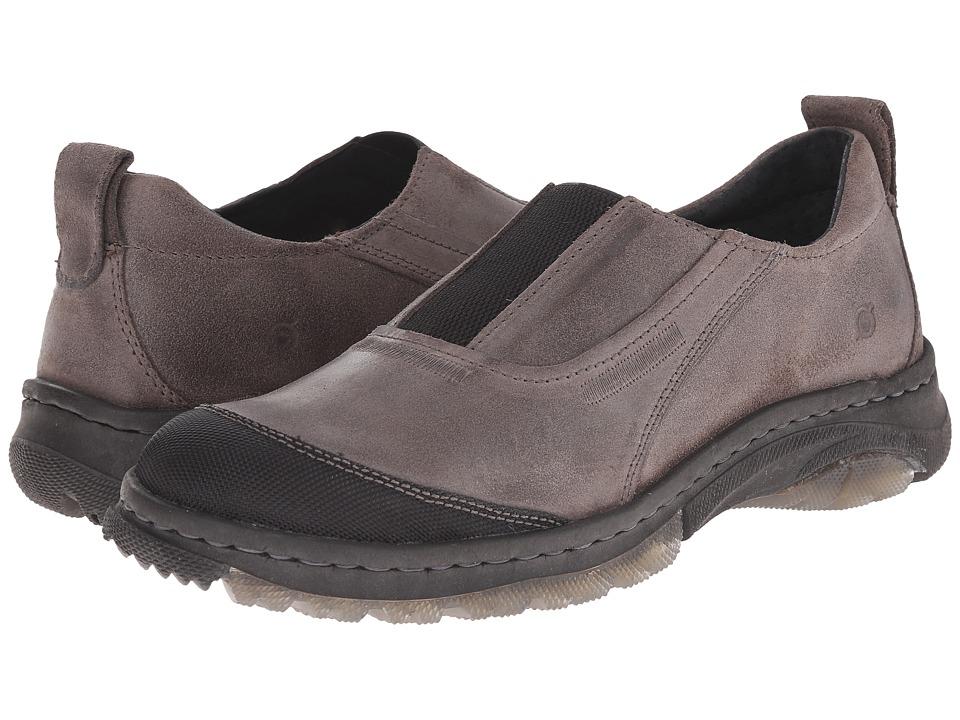Born - Foster (Deep Grey/Black) Men's Slip on Shoes
