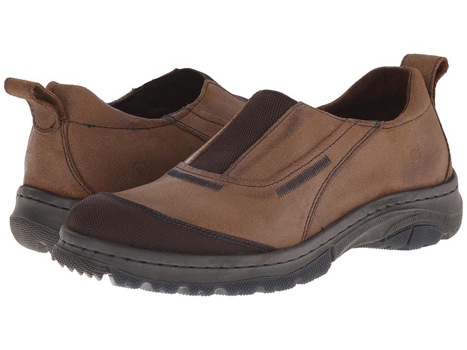 Born - Foster (Dijon/Cafe) Men's Slip on Shoes