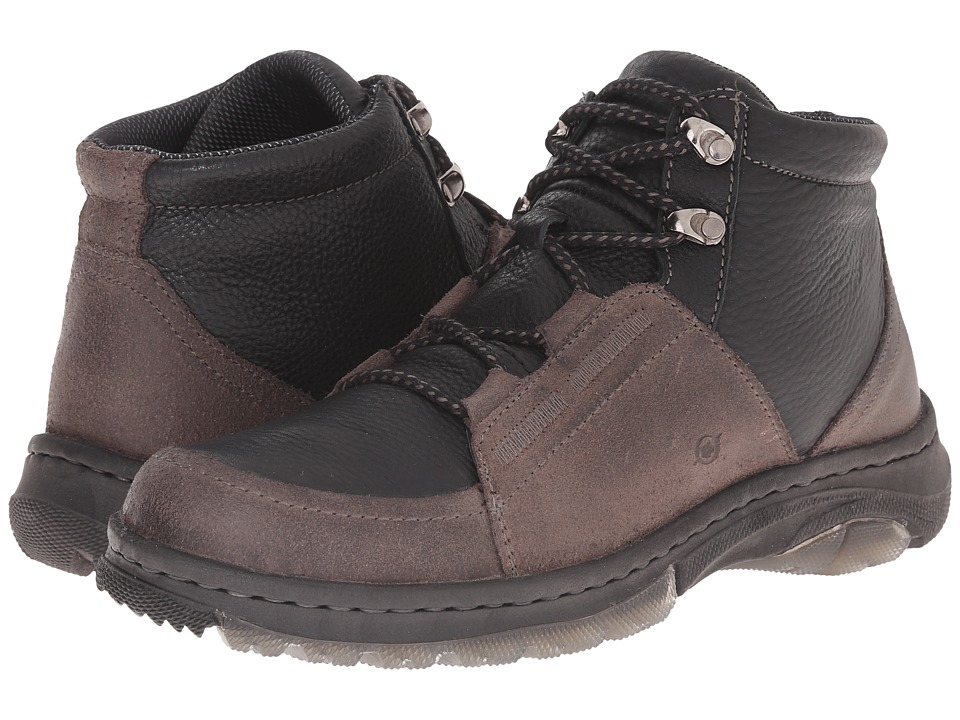 Born - Gordon (Deep Grey/Black) Men's Boots