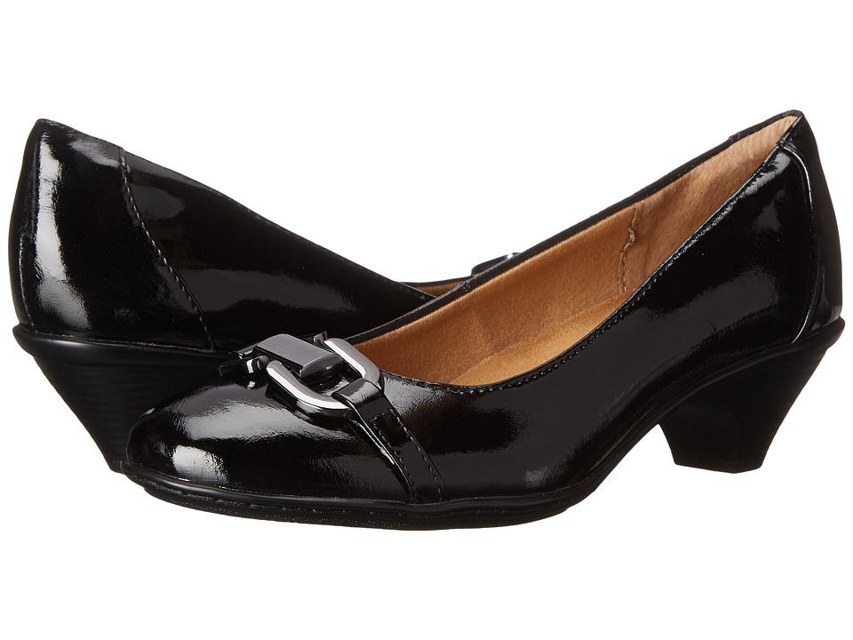 Comfortiva - Sahara (Black Patent) High Heels
