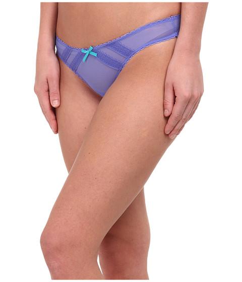 Betsey Johnson - Mesh Thong J2976 (Indie Blue) Women's Underwear