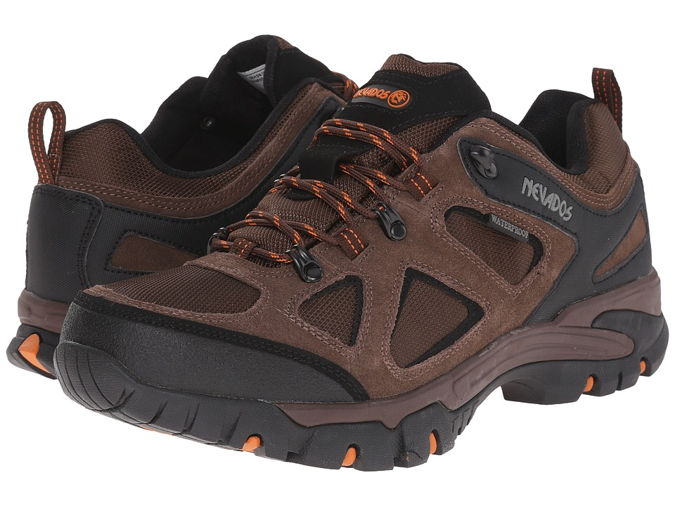 Nevados - Spire Low WP (Dark Brown/Orange/Black) Men
