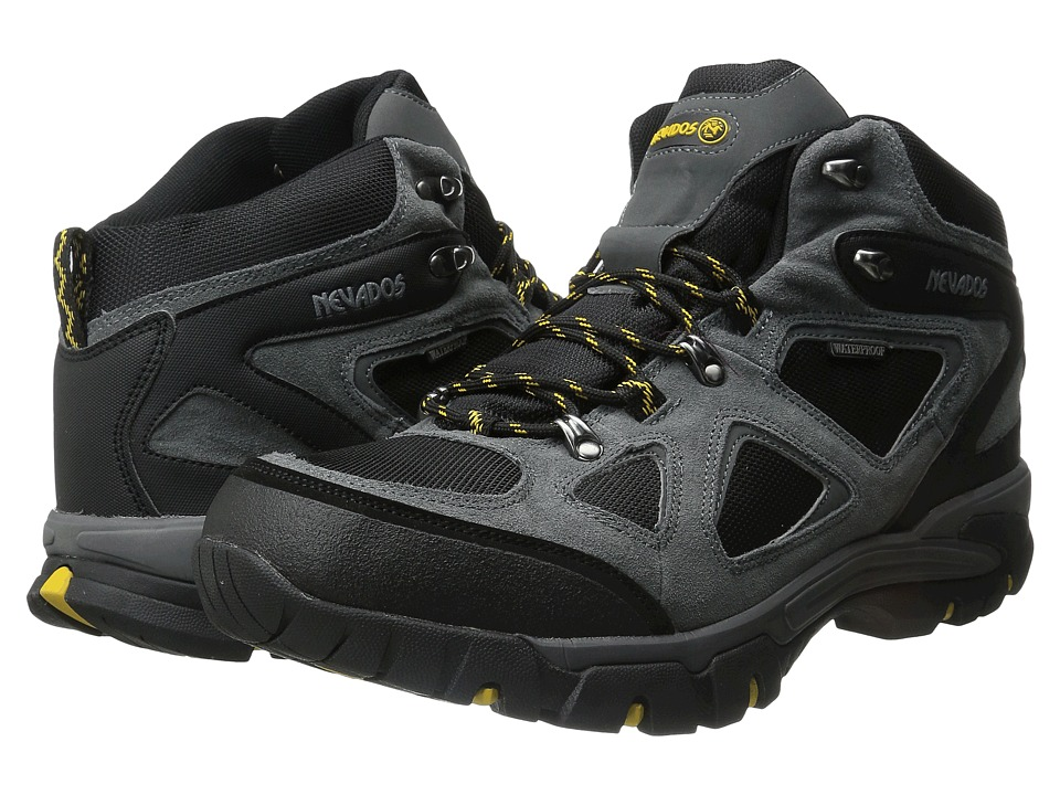 Nevados - Spire WP (Grey/Black/Yellow) Men's Boots