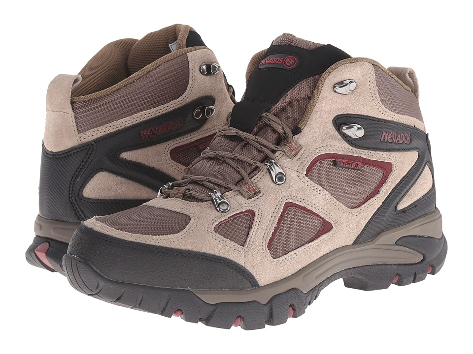 Nevados - Spire WP (Tan/Red/Black) Men