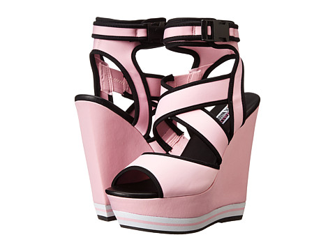 Steve Madden - Iggy Azalea - Paatra (Pink Multi) Women's Wedge Shoes