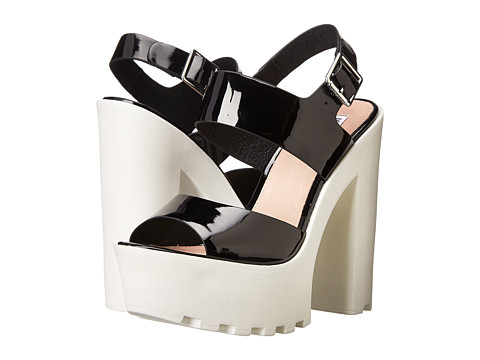 Steve Madden - Iggy Azalea - Get-It (Black Patent) High Heels
