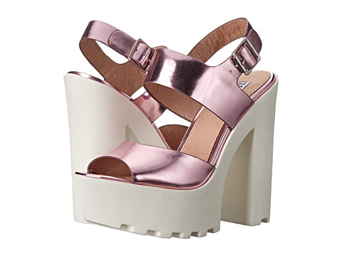 Steve Madden - Iggy Azalea - Get-It (Pink Metallic) High Heels