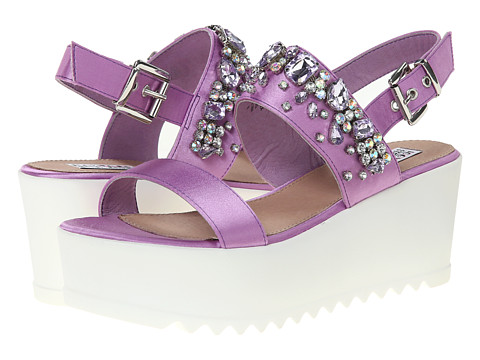 Steve Madden - Iggy Azalea - Ono (Lilac) Women's Wedge Shoes