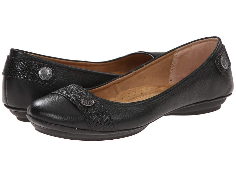 Comfortiva - Satara (Black Calf Ionic) Women's Shoes