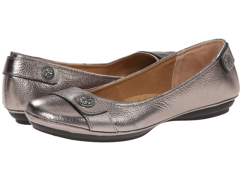 Comfortiva - Satara (Anthracite Cow Metallic) Women's Shoes