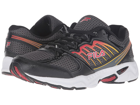 Fila - Tempo (Castlerock/Black/Fila Red) Men's Shoes