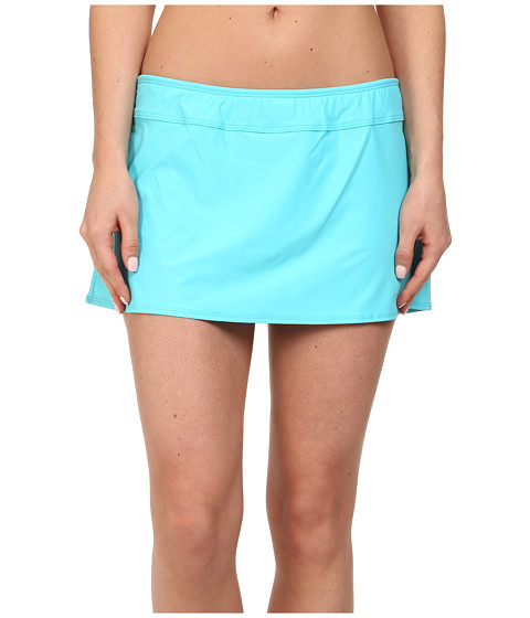 Athena - Finesse Solid A Line Skirt (Lagoon) Women