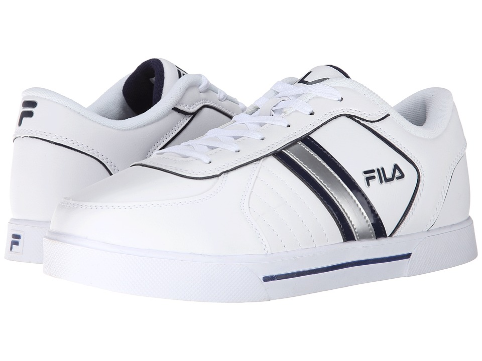 Fila - Estero 3 (White/White/Fila Navy) Men