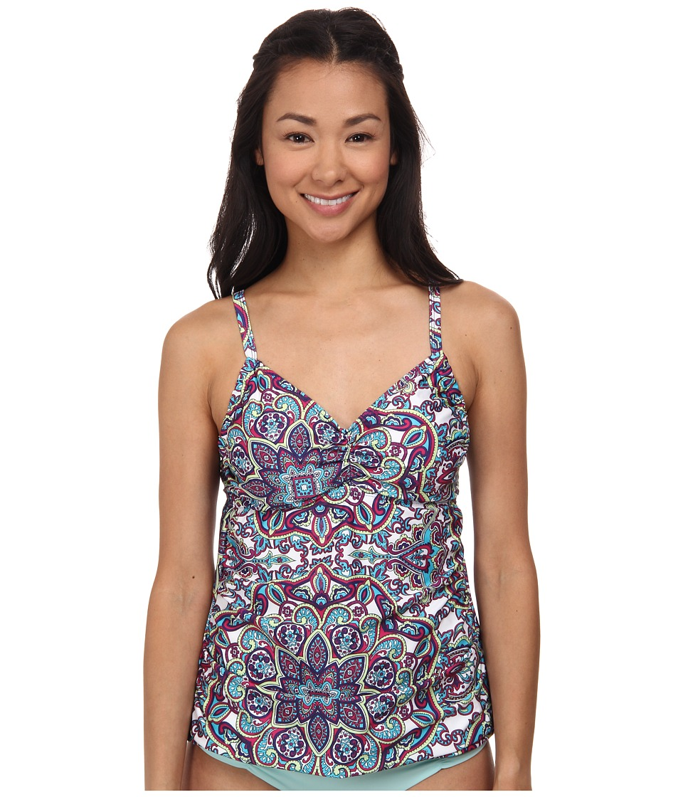 Athena - Perfectly Paisley Tankini (Multi) Women's Swimwear
