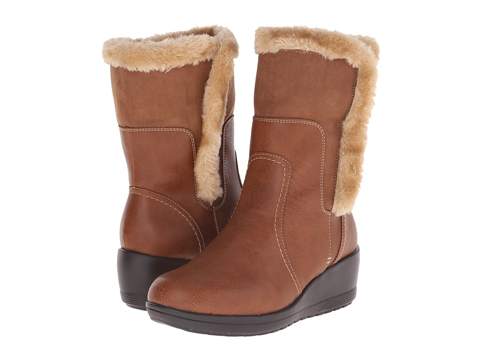 Comfortiva - Corby (Whiskey Tan/Whiskey) Women's Boots