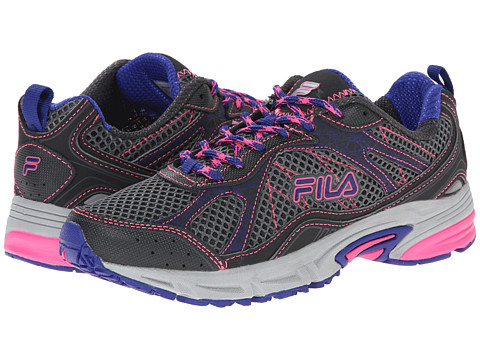 Fila - Overstitch 8 (Castlerock/Dark Shade/Royal Blue) Women's Shoes