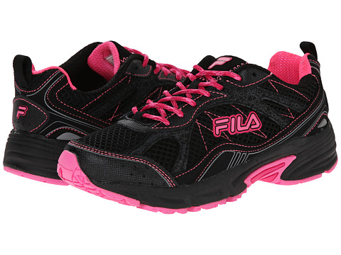 Fila - Overstitch 8 (Black/Sugar Plum/Pinkglo) Women's Shoes