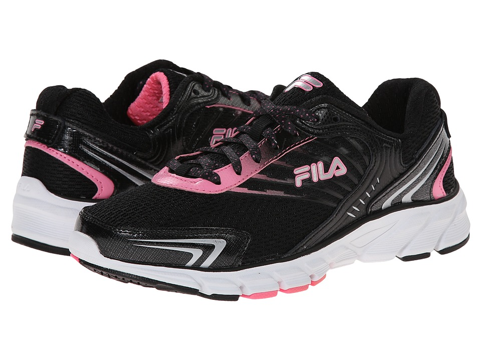 Fila - Maranello (Black/Sugarplum/Metallic Silver) Women's Shoes