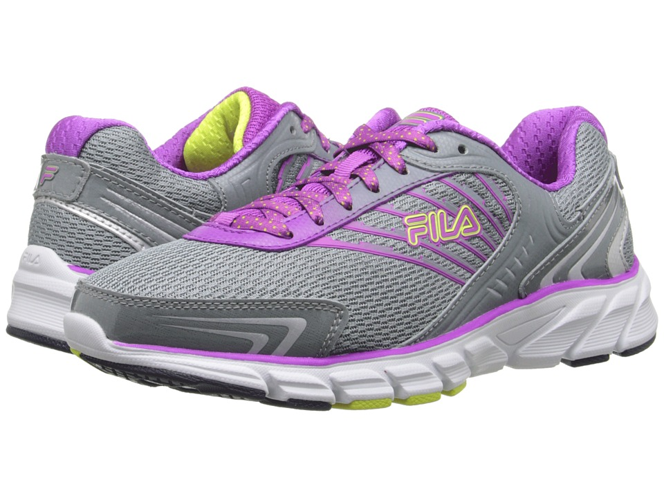 Fila - Maranello (Monument/Purple Cactus Flower/Safety Yellow) Women's Shoes