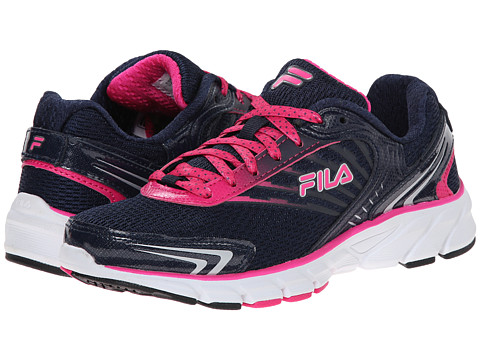 Fila - Maranello (Fila Navy/Pink Glow/White) Women's Shoes