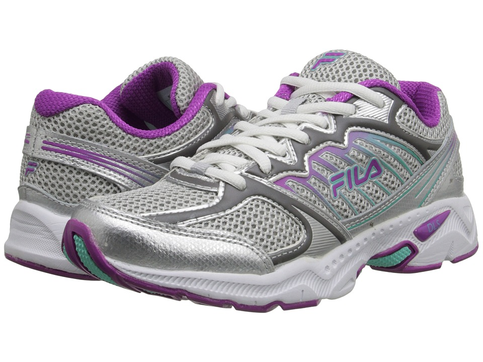 Fila - Tempo (Metallic Silver/Purple Cactus/Cockatoo) Women