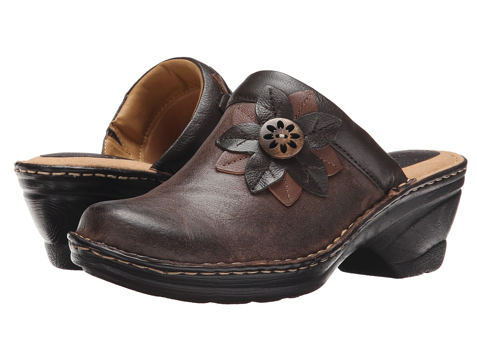 Comfortiva - Lara (Coffee) Women's Clog Shoes