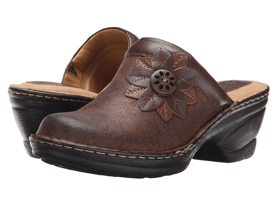 Comfortiva - Lara (Drum Brown) Women's Clog Shoes
