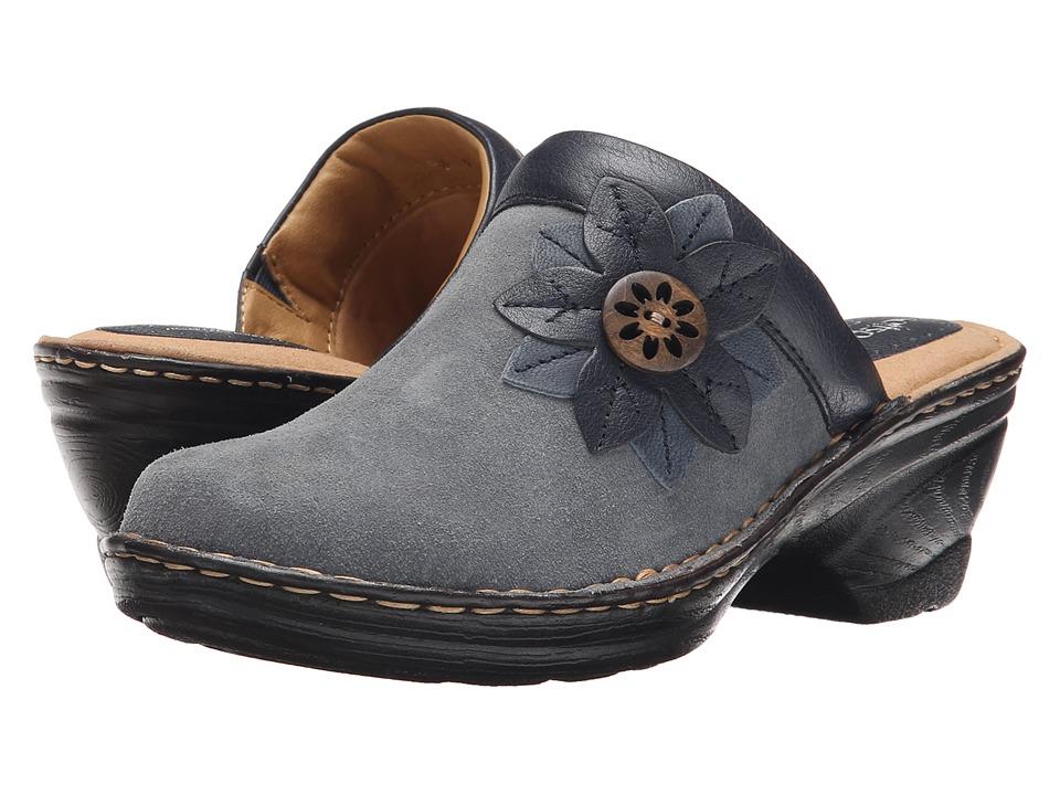 Comfortiva - Lara (Denim) Women's Clog Shoes