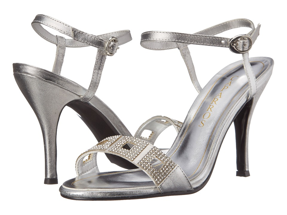 Caparros Vogue (Silver Metallic) High Heels