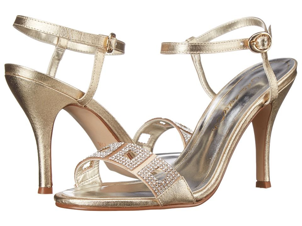 Caparros Vogue (Gold Metallic) High Heels