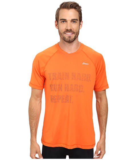 ASICS - Charged Tee (Radiant Orange) Men's Workout