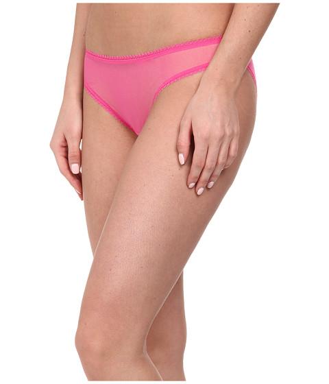 OnGossamer - Solid Gossamer Mesh Hip Bikini 3202 (Pink Lace) Women's Underwear