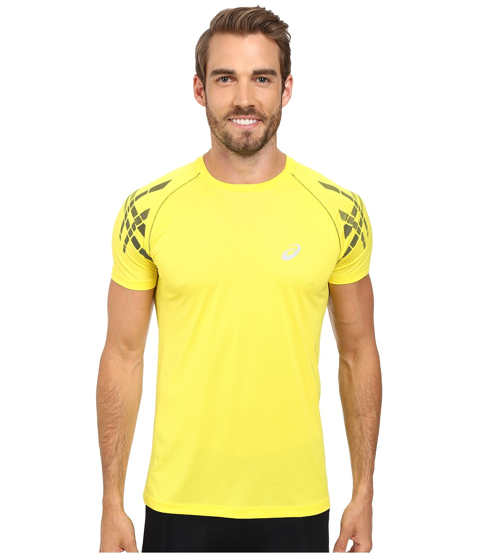 ASICS - Speed Short Sleeve Top (Blazing Yellow) Men's Workout