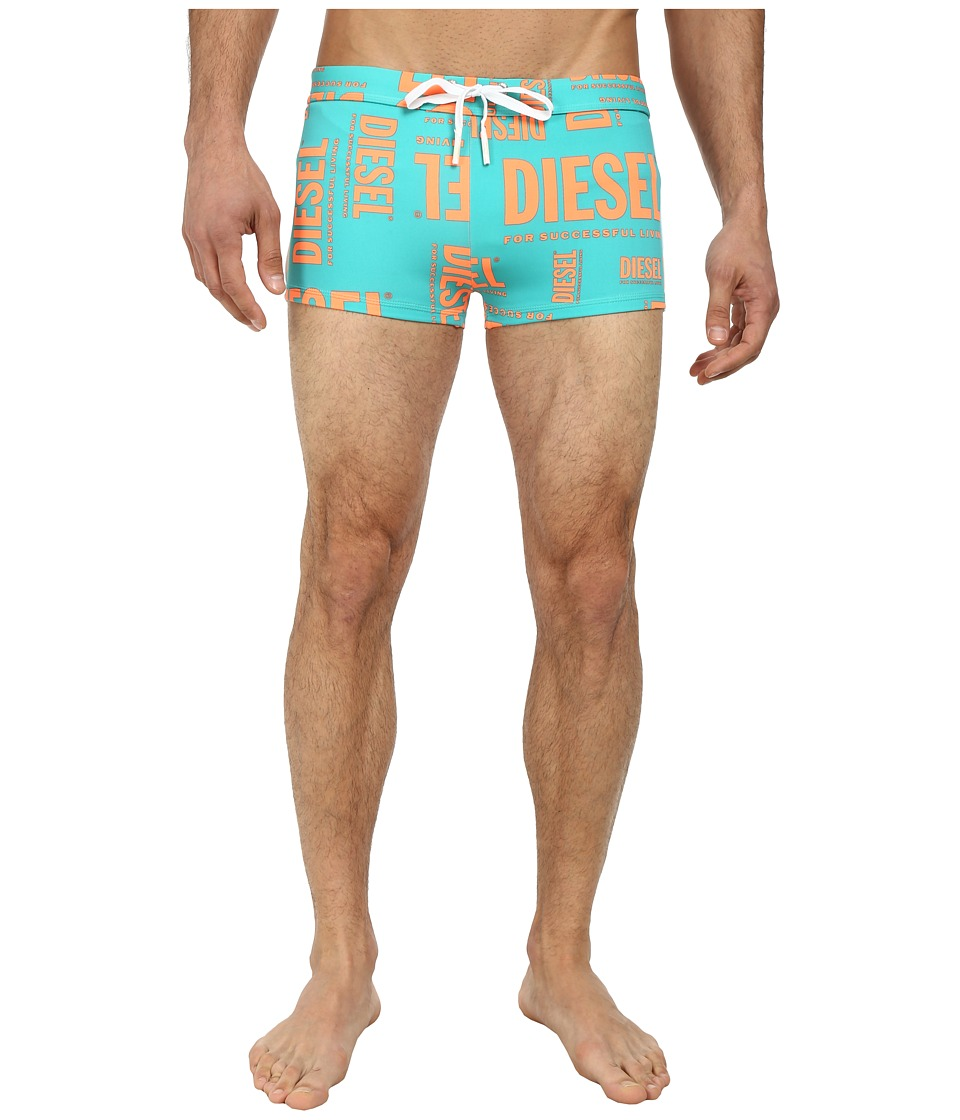 Diesel - Aloha Shorts DAIL (Turquoise) Men's Swimwear