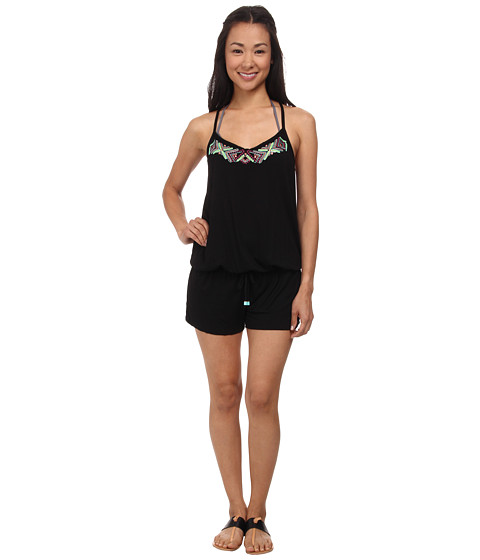 Ella Moss - Dream Weaver Romper (Black) Women's Jumpsuit & Rompers One Piece