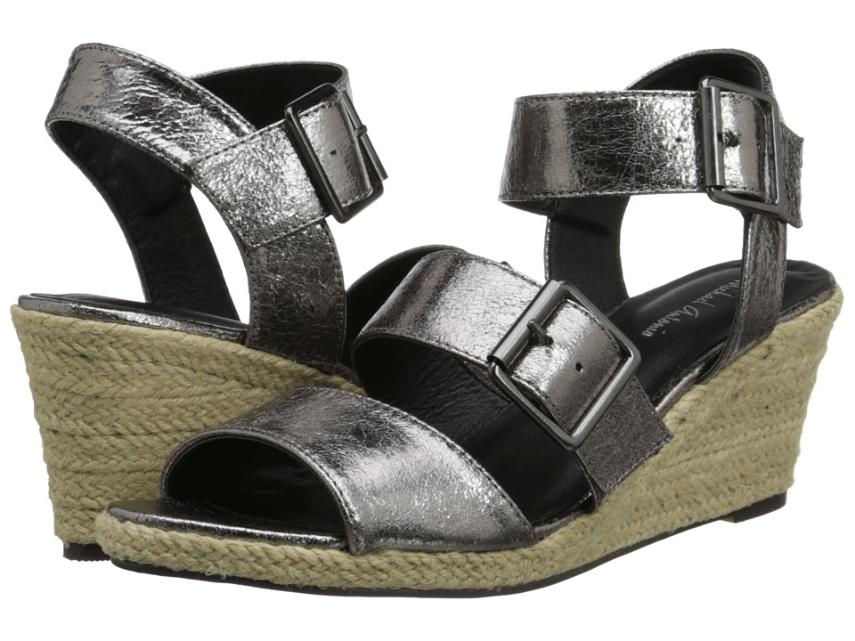 Michael Antonio - Goren - Metallic (Pewter) Women's Wedge Shoes
