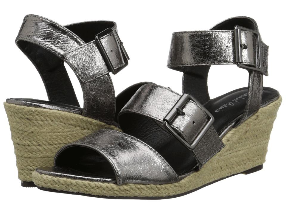 Michael Antonio - Goren - Metallic (Pewter) Women's Wedge Shoes
